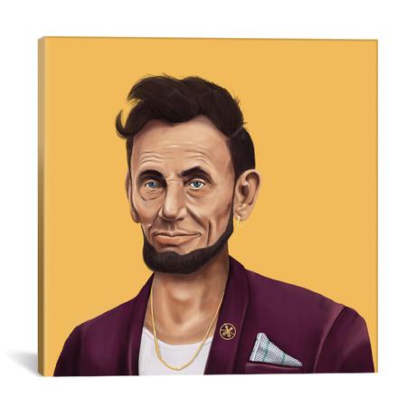 """Abraham Lincoln // Amit Shimoni (18""""W x 18""""H x 0.75""""D)"""