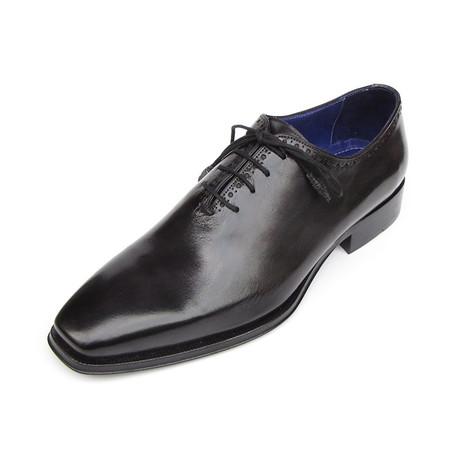 Plain Toe Oxfords // Black (Euro: 38)