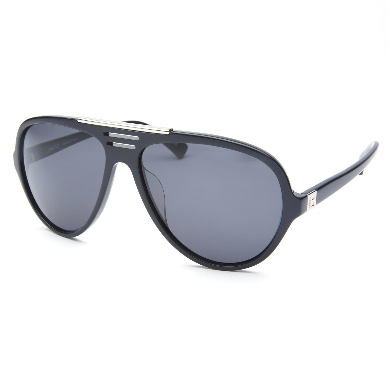 627e8bb5b9 061d359a5eda3dd9f5ee7612d4cac65e medium · Bally    Chrome Accent Aviator  Sunglasses    Black II