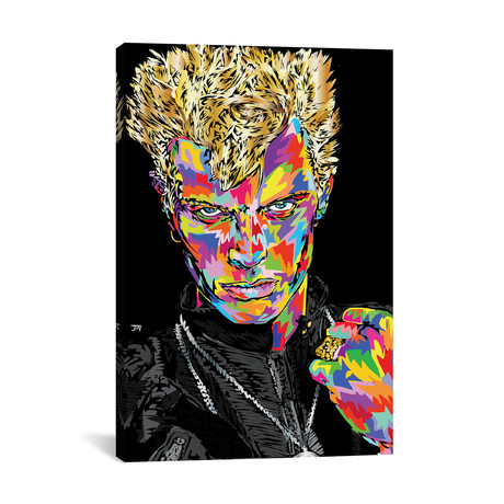 "Billy Idol (26""W x 18""H x 0.75""D)"