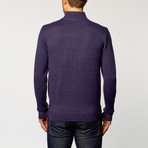 Quarter-Zip Sweater // Navy (S)