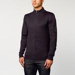 Longsleeve Slim Fit Sweater // Sand Blue (S)
