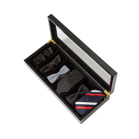 Safe Specs Sunglass Box // Carbon Fiber