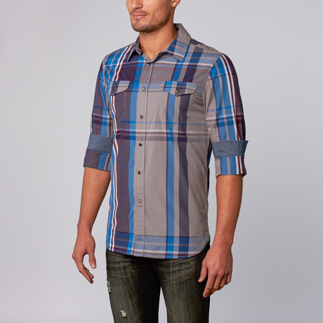 Dexter Plaid Shirt // Dark Gray