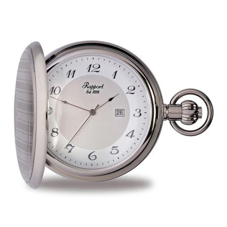 Rapport London Full Hunter Pocket Watch Quartz // PW71