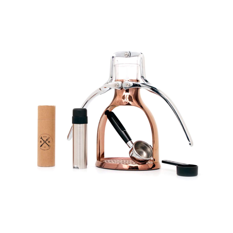 Touch Of Modern Espresso Maker ~ Rok espresso machine copper touch of