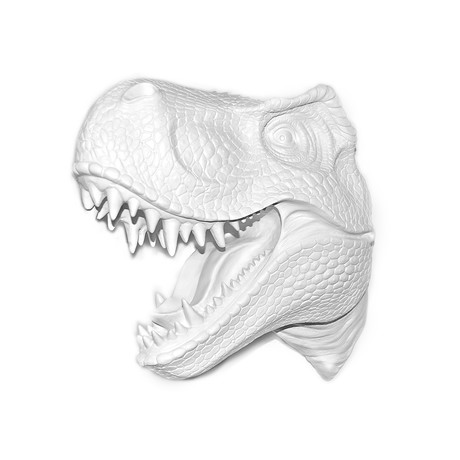 T-Rex Wall Mount (White)