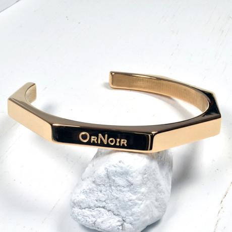 Octagon Cuff // Rose Gold