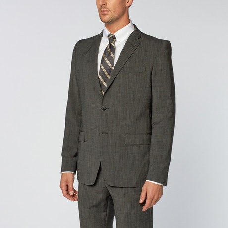 Versace Collection // Two-Piece Notch Lapel Suit // Grey (Euro: 46R)