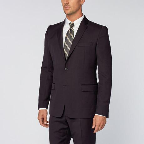 Shadow Pinstripe Suit // Navy