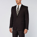 Versace Collection // Two-Piece Notch Lapel Suit // Black (US: 46R)