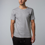 Combed Cotton Tee // Heather Grey (S)