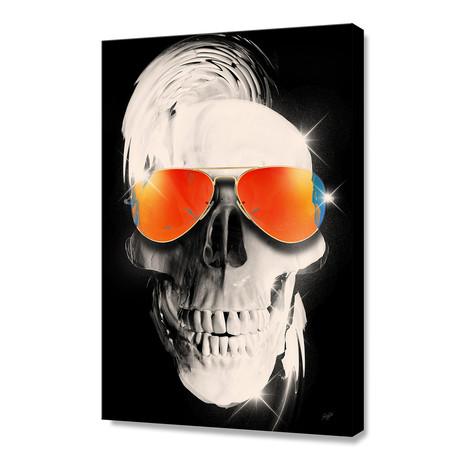 """Summer Skull (12""""H x 8""""W x 0.75""""D)"""