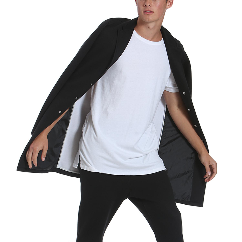 Tech Fleece Long Coat // Black (S) - Members Only - Touch of Modern