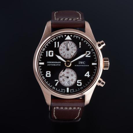 IWC Pilot Antoine De Saint Exupery Chronograph Automatic // IW387805 // Unworn