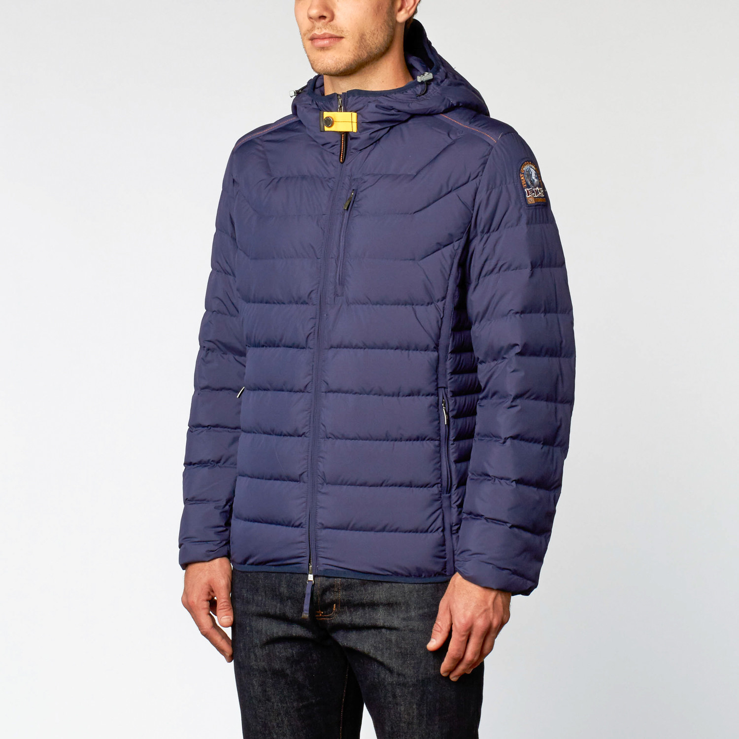 Last Minute Quilted Down Jacket // Dark Indigo (S)