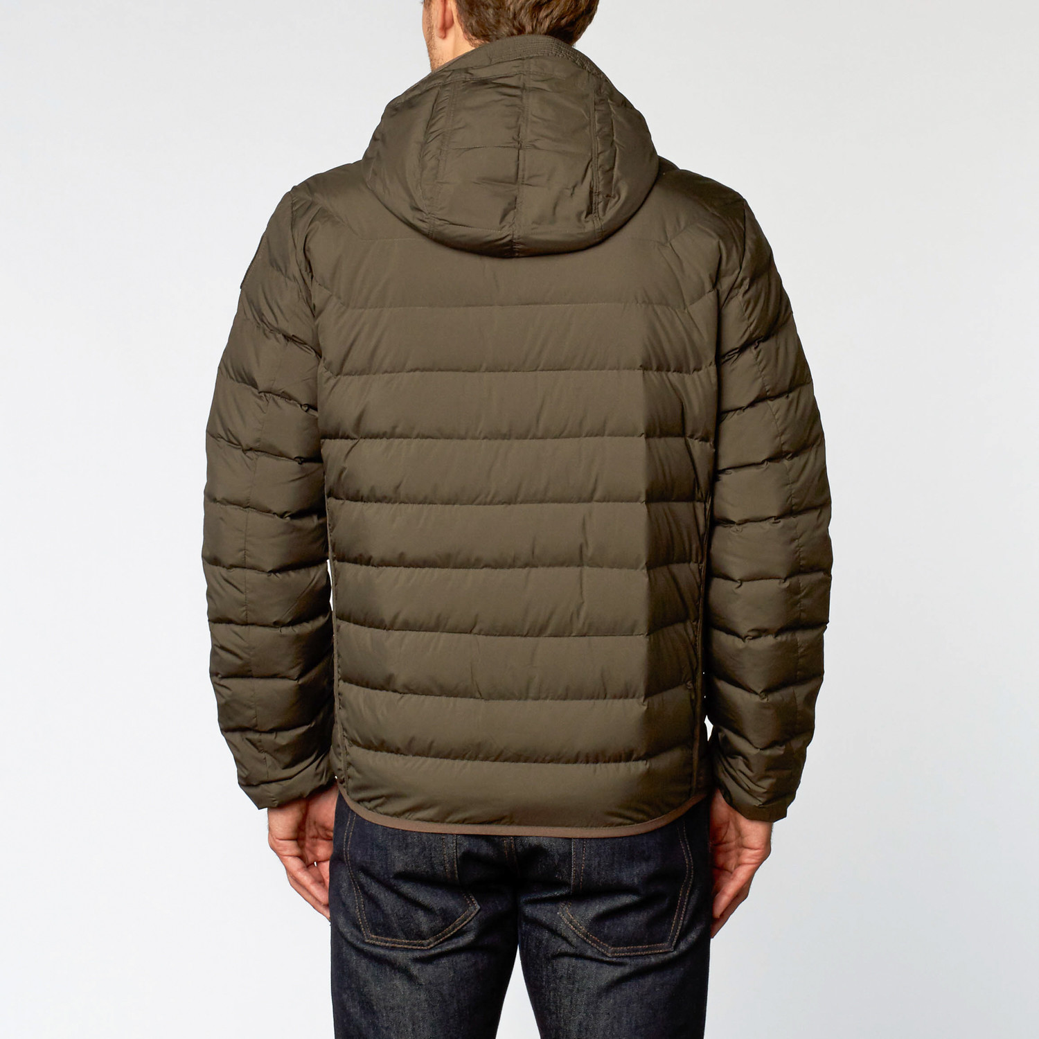 Last Minute Quilted Down Jacket // Bush (S)