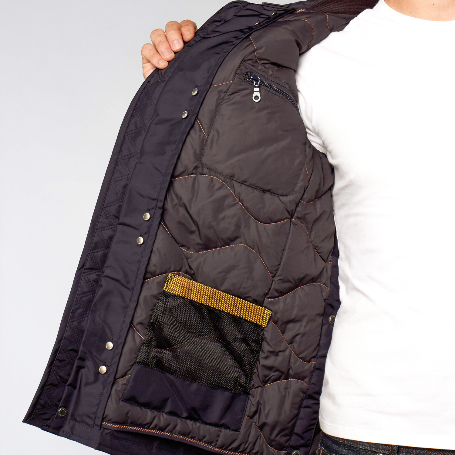 Portland Nylon Field Jacket // Navy (S)