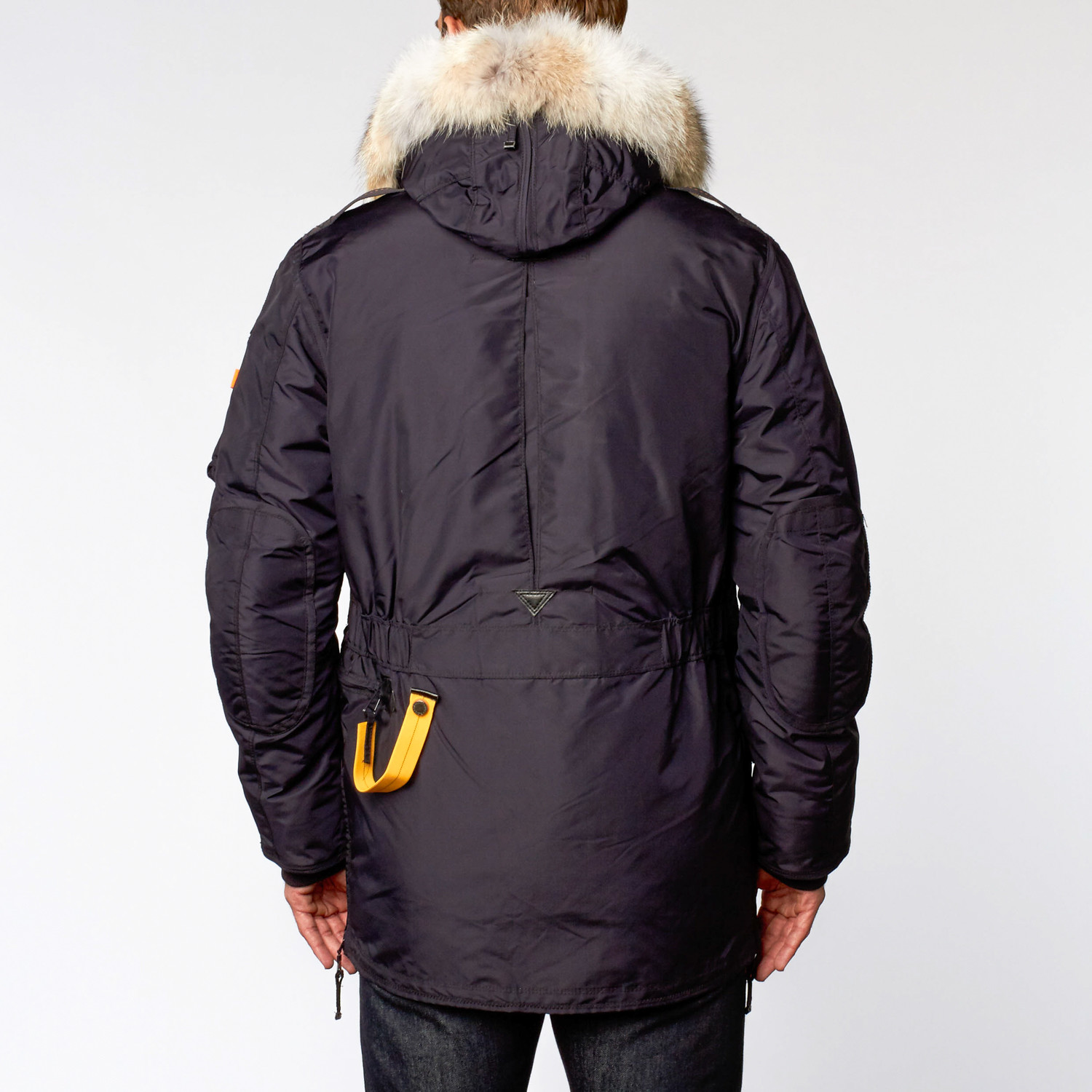parajumpers kodiak womens parka navy