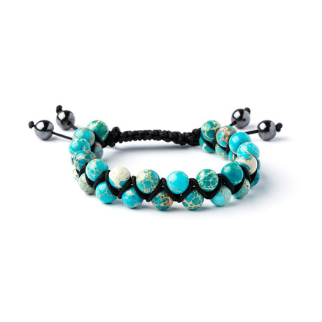 Double Striped Emperor Stone Bracelet