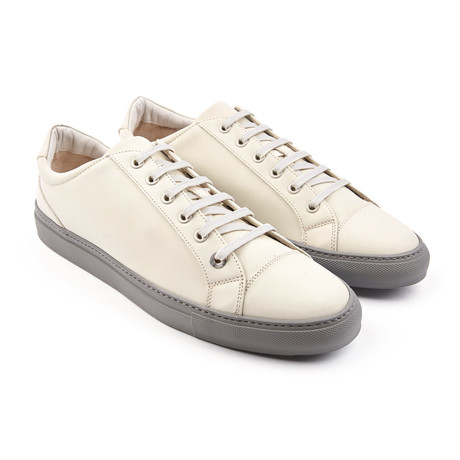 Alpha Leather Low-Top // Matte White (Euro: 43)