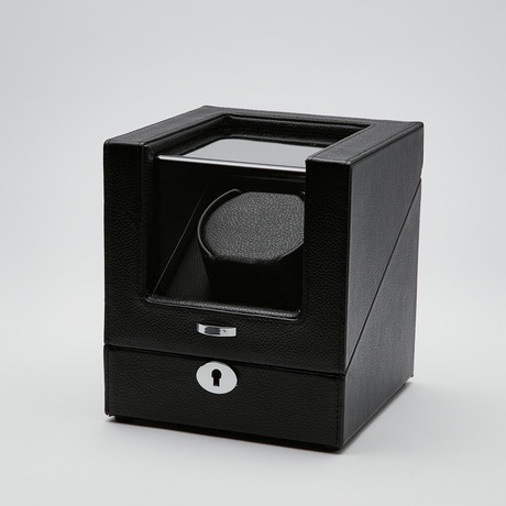 Watch Winder // Pebbled Leather