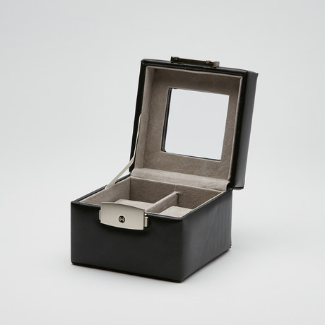 Two Slot Watch Box // Genuine Leather