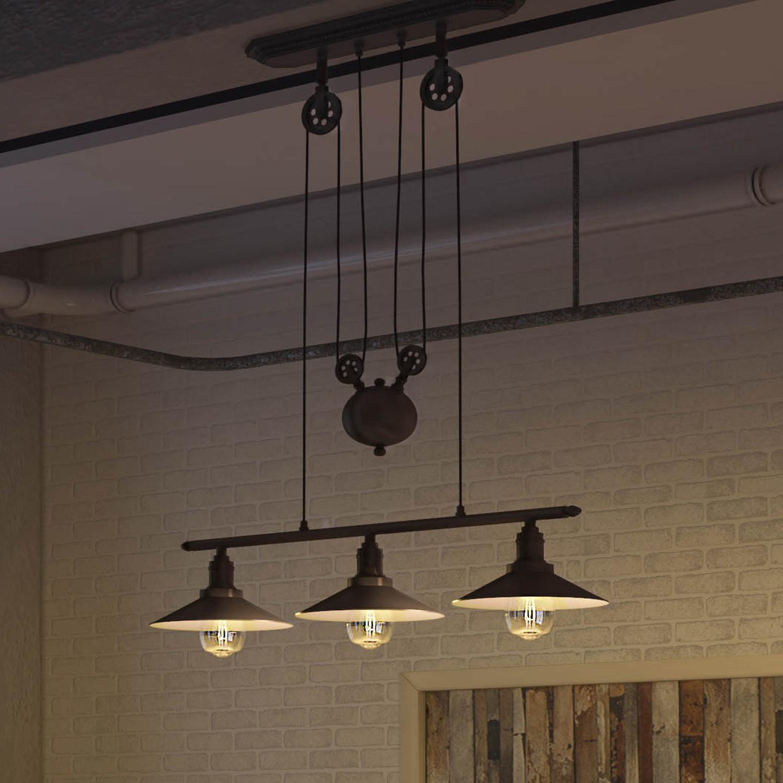 Delphinus counter weight chandelier vonn lighting touch of modern delphinus counter weight chandelier aloadofball Images