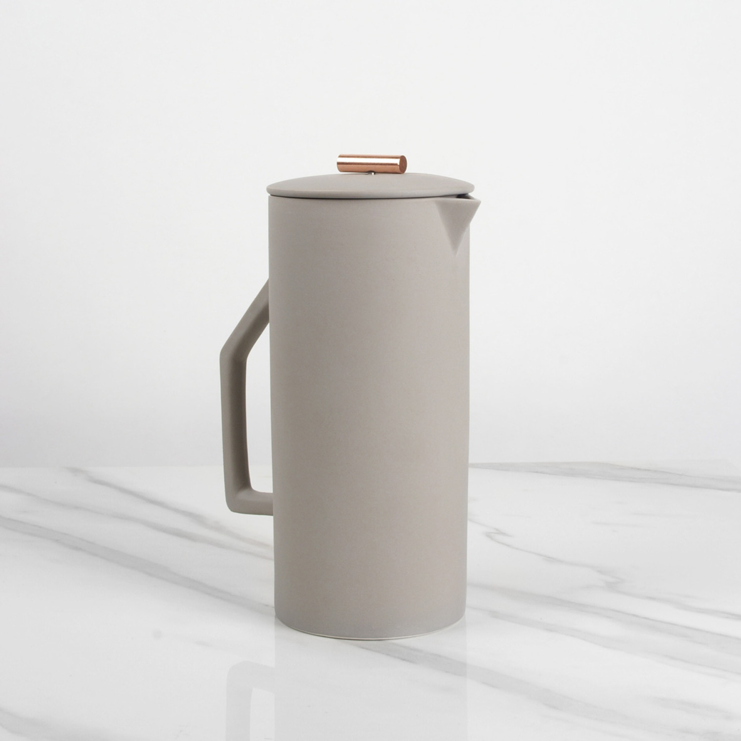 french press  gray ( ml)  yield design  touch of modern - french press  gray ( ml)