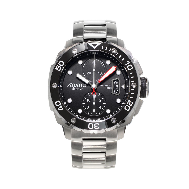 Alpina Extreme Diver Chronograph Automatic // AL-725LB4V26B - Alpina ...