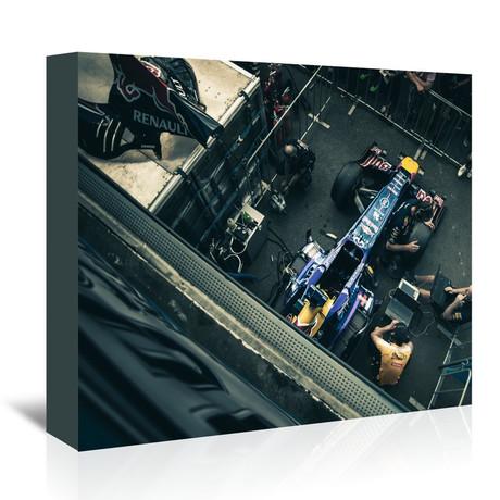 F1 Car // Blue