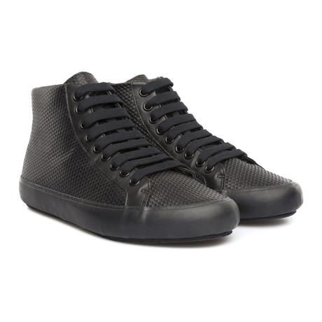 Portol High-Top Sneaker // Black