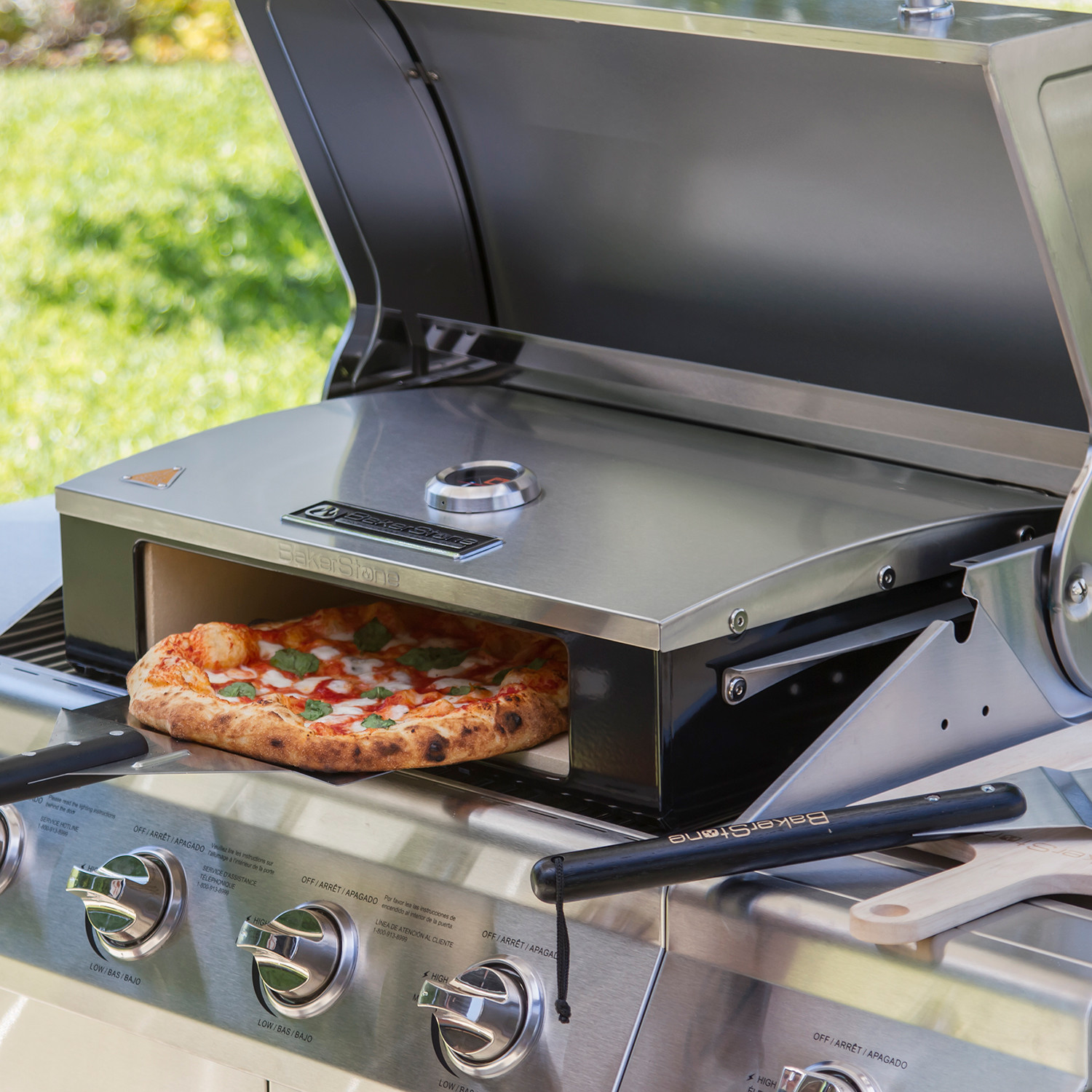 professional series pizza oven kit bakerstone touch of. Black Bedroom Furniture Sets. Home Design Ideas