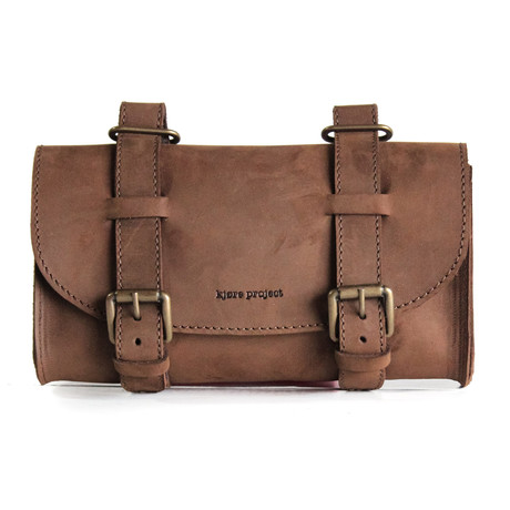 Saddle Bag // Russet Brown