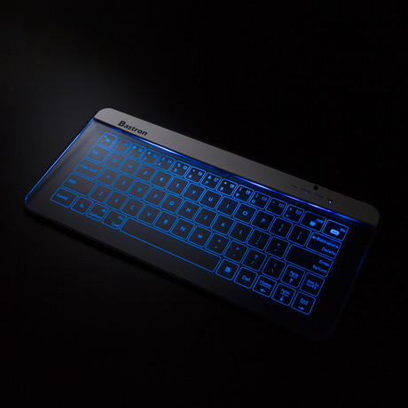 Glass Touch Smart Keyboard // Bluetooth