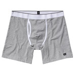 Pierce Relaxed Boxer Briefs // Light Marl Grey (S)