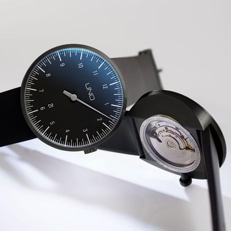 Botta Design UNO+ Carbon Black Edition Automatic // BE819010