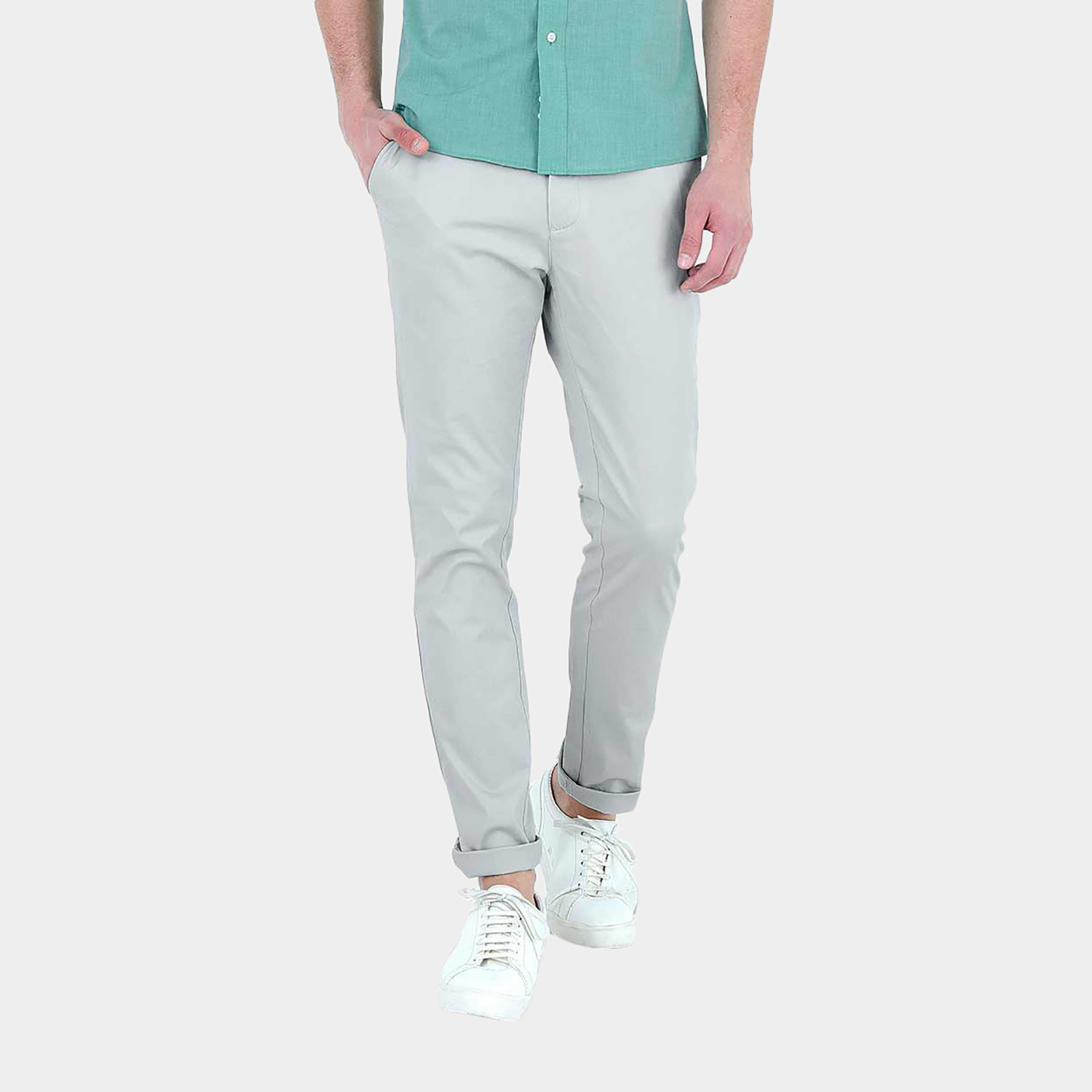 21a2ace69d Chino // Light Grey (M) - Fashion Clearance - Touch of Modern