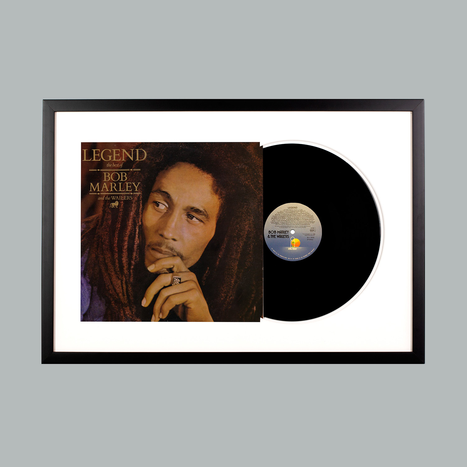 Bob marley legend white frame level frames touch of modern bob marley legend white frame altavistaventures
