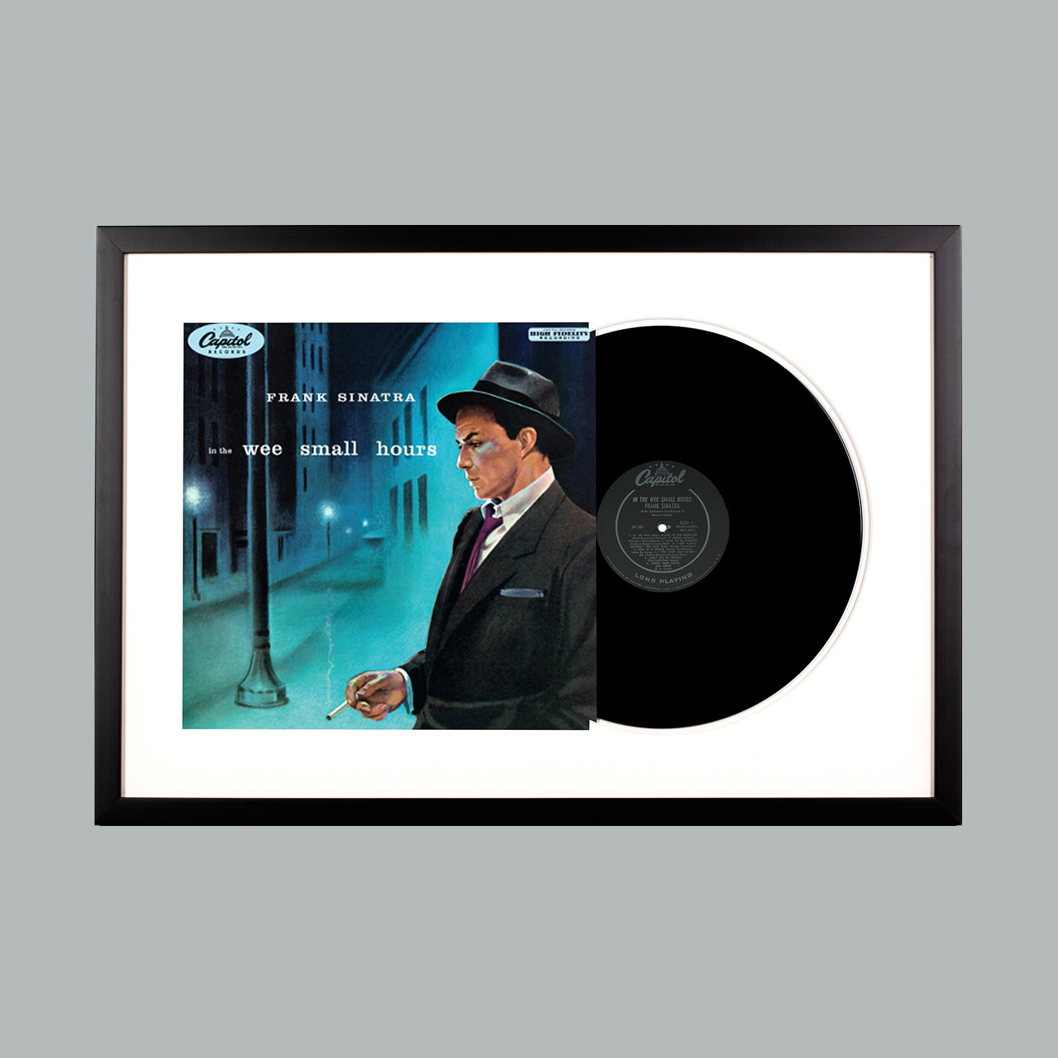 Frank Sinatra : In the Wee Small Hours (Black Frame) - Level Frames ...