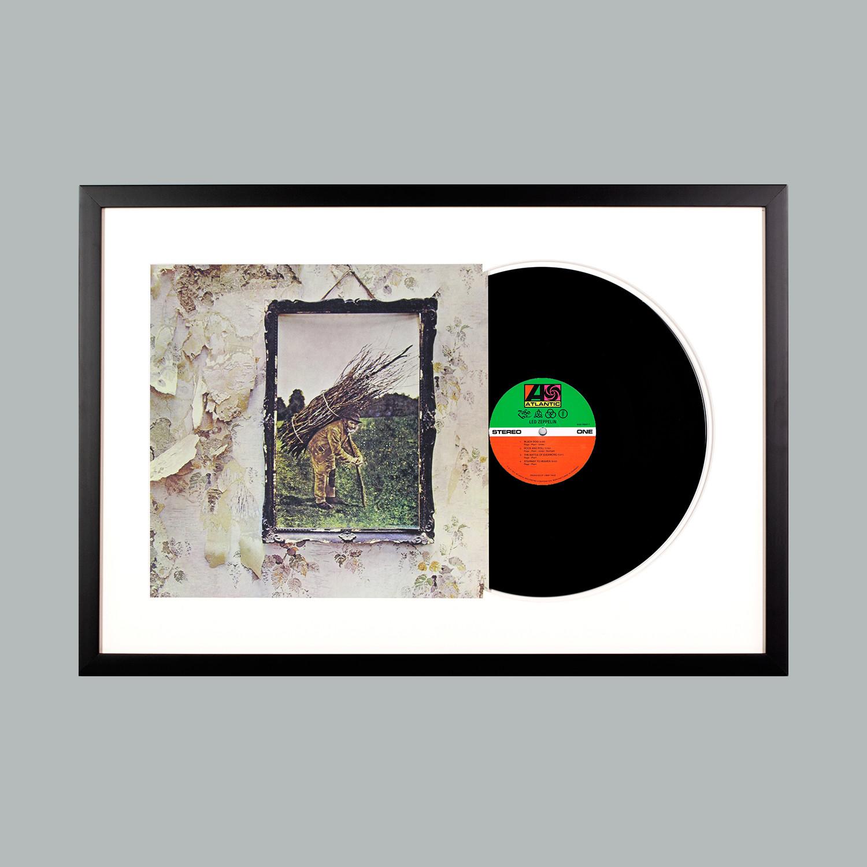 Led Zeppelin : Led Zeppelin IV (Black Frame) - Level Frames - Touch ...