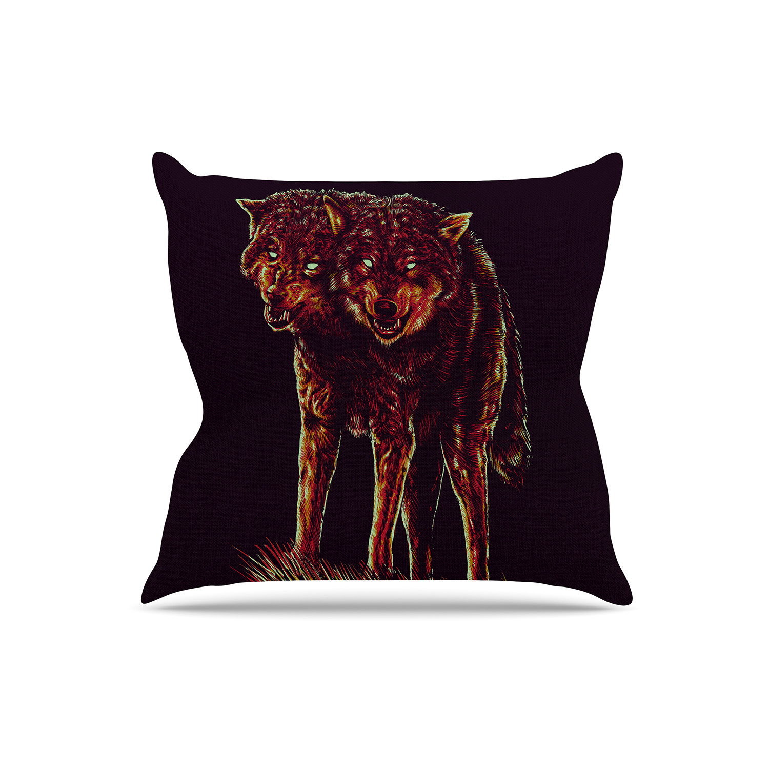 2head Throw Pillow (16