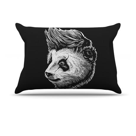 Funky Panda Pillow Case