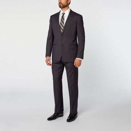 Marco Notch Lapel 2-Piece Suit // Dark Blue (Euro: 46)