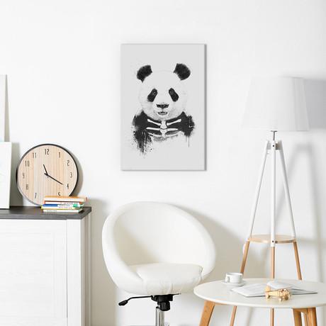 """Zombie Panda (18""""W x 26""""H x 0.75""""D)"""