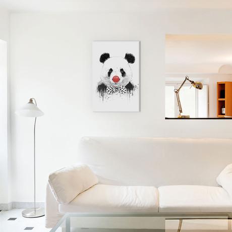 "Clown Panda (18""W x 26""H x 0.75""D)"