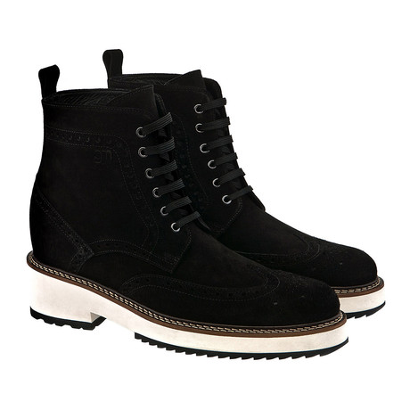 Hollywood Suede Boot // Black (US: 7)