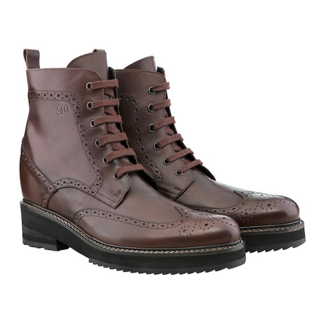 Taipei Dress Boot // Dark Brown (US: 7)