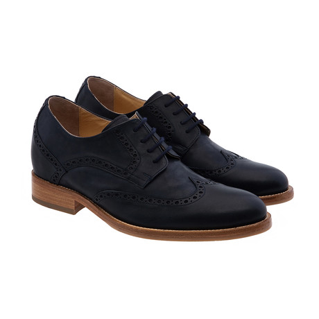Catalina Wing-Tip Derby // Black (US: 7)