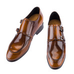 Ontario Double Monkstrap // Brown (US: 9.5)
